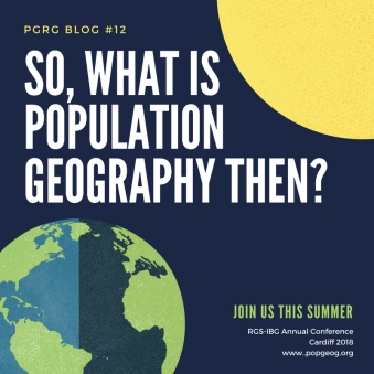 So, what is population geography_